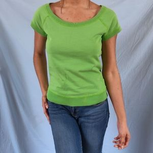 🌿LUCKY BRAND SOLID COLOR BOAT NECK TOP